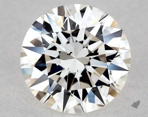 1.01 Carat G-SI1 Excellent Cut Round Diamond