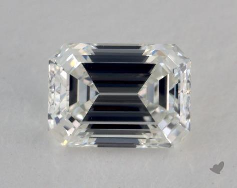 0.70 Carat G-VS1 Emerald Cut Diamond