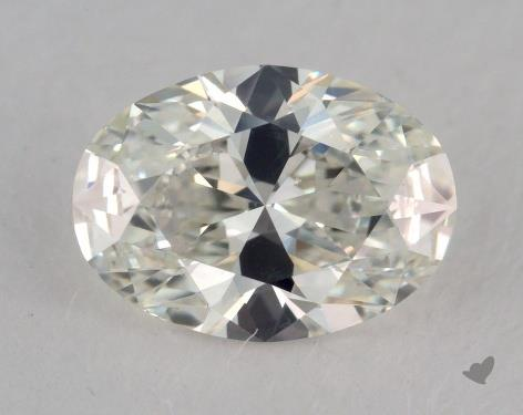 1.02 Carat H-VS2 Oval Cut Diamond