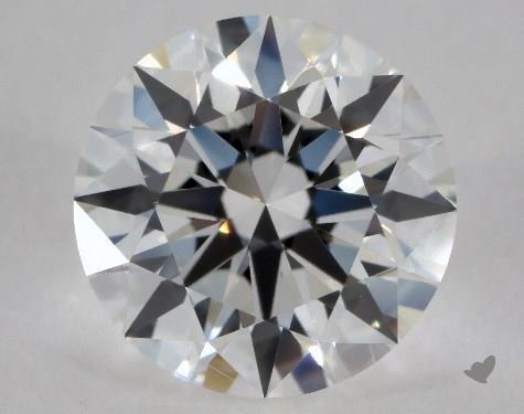 1.02 Carat G-VVS2 Excellent Cut Round Diamond