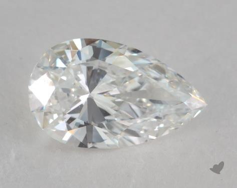 2.11 Carat E-VS1 Pear Shape Diamond