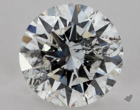 1.01 Carat G-I1 Excellent Cut Round Diamond