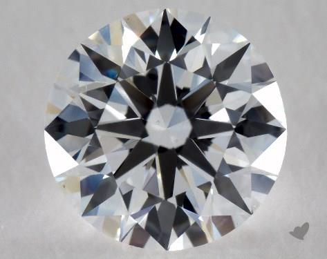0.80 Carat E-VS2 Excellent Cut Round Diamond