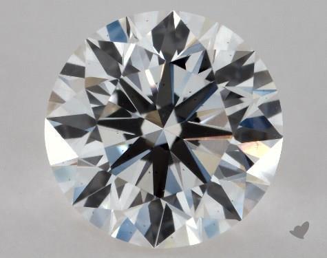 1.01 Carat G-VS2 Excellent Cut Round Diamond
