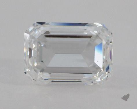 0.70 Carat D-VS2 Emerald Cut Diamond