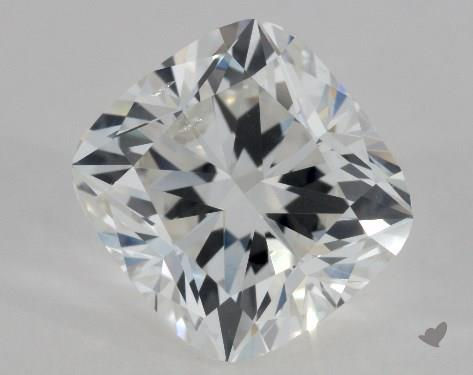 1.50 Carat G-SI1 Cushion Cut Diamond