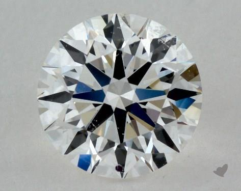 0.85 Carat F-VVS1 Ideal Cut Round Diamond