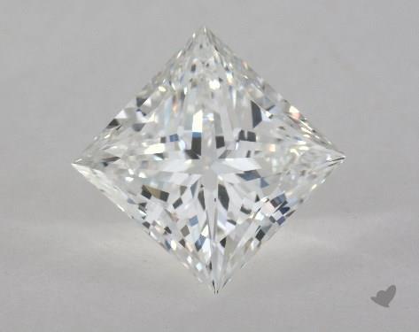 2.01 Carat F-VS2 Ideal Cut Princess Diamond