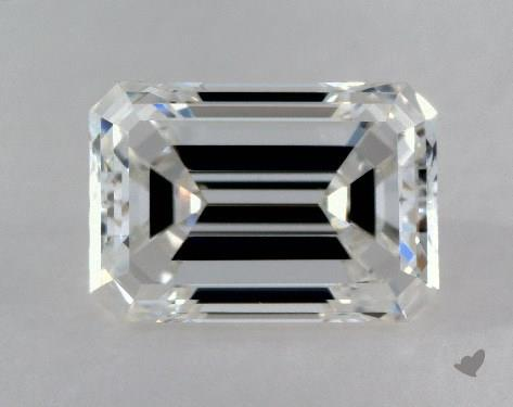 0.70 Carat F-VVS2 Emerald Cut Diamond