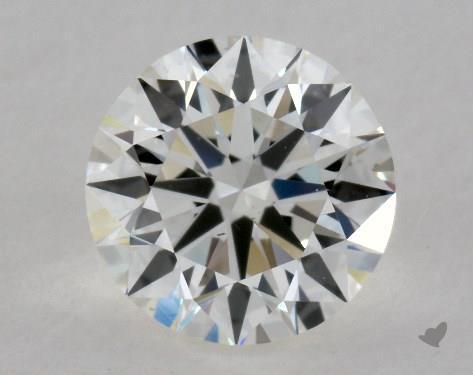 0.82 Carat H-VS2 Excellent Cut Round Diamond