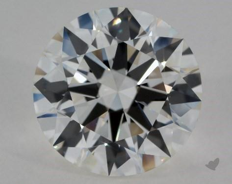 1.72 Carat J-IF Excellent Cut Round Diamond