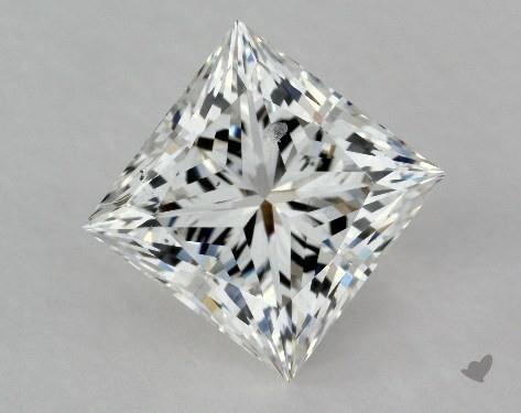 1.52 Carat G-VS2 Ideal Cut Princess Diamond