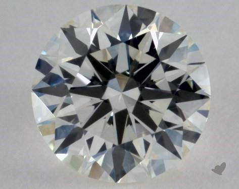 0.42 Carat J-VVS1 Excellent Cut Round Diamond
