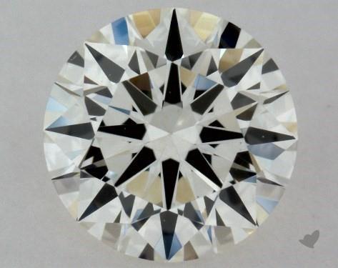 0.41 Carat J-VS1 Excellent Cut Round Diamond