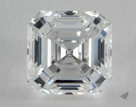 0.83 Carat G-VS2 Square Emerald Cut Diamond