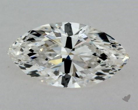 0.70 Carat H-VS2 Marquise Cut Diamond