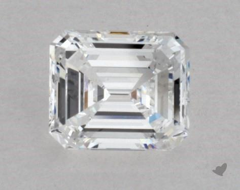 0.61 Carat D-VVS2 Emerald Cut Diamond