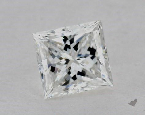 0.70 Carat H-SI1 Ideal Cut Princess Diamond