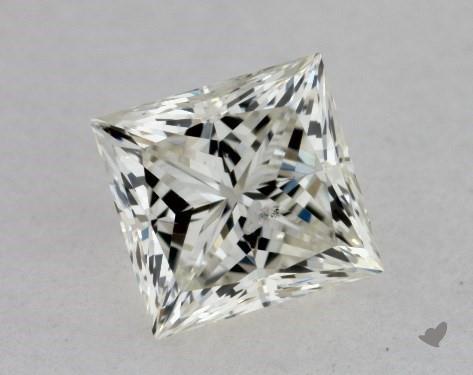 0.51 Carat K-I1 Ideal Cut Princess Diamond