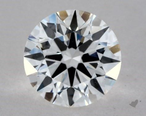 0.93 Carat F-VS1 Excellent Cut Round Diamond