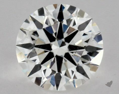 1.03 Carat F-SI1 Excellent Cut Round Diamond