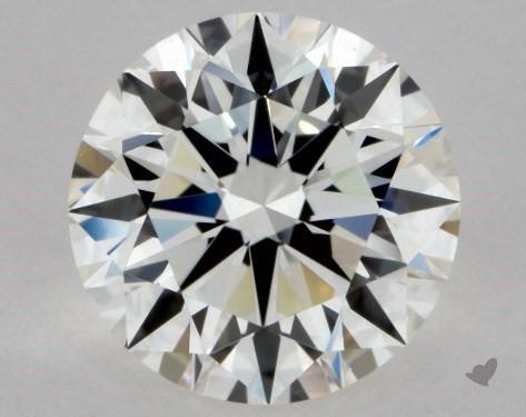 0.90 Carat H-VVS1 Excellent Cut Round Diamond