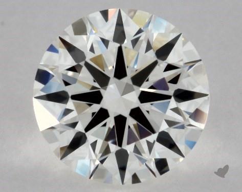 0.90 Carat H-VVS2 Excellent Cut Round Diamond