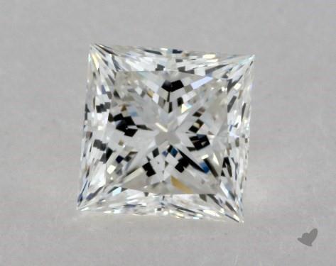 0.76 Carat G-VVS2 Ideal Cut Princess Diamond