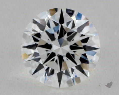 0.90 Carat G-VS2 Ideal Cut Round Diamond