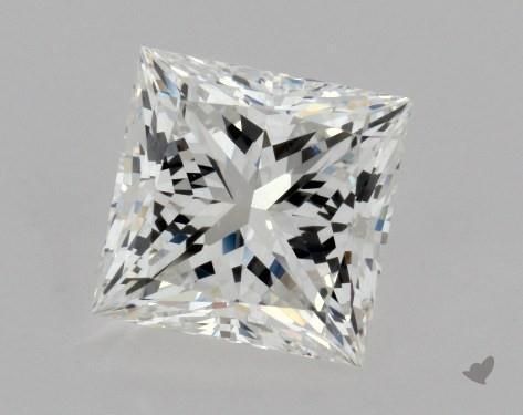 2.01 Carat G-VVS2 Ideal Cut Princess Diamond