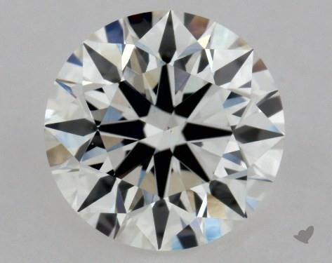0.90 Carat F-VS1 Excellent Cut Round Diamond