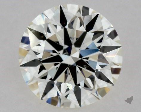 0.90 Carat J-SI2 Excellent Cut Round Diamond