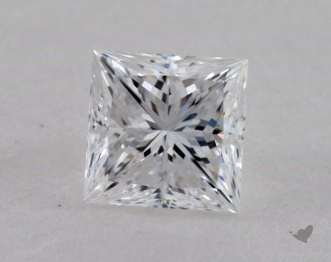 0.31 Carat D-VVS2 Ideal Cut Princess Diamond