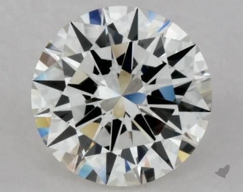 0.91 Carat H-VVS1 Excellent Cut Round Diamond