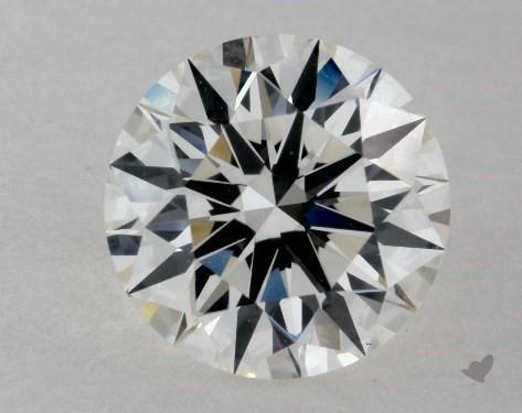 1.28 Carat H-VS1 Ideal Cut Round Diamond