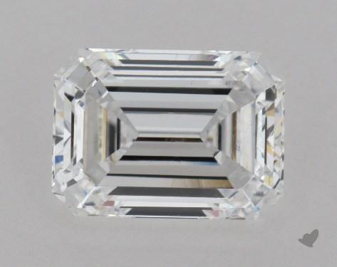 1.52 Carat D-VVS1 Emerald Cut Diamond