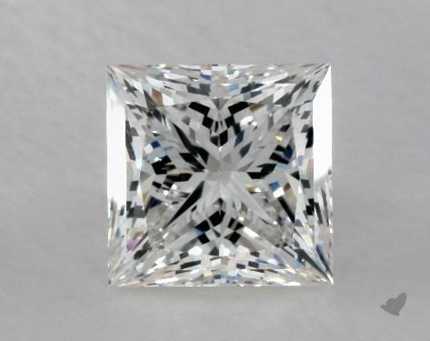 2.02 Carat F-VS2 Ideal Cut Princess Diamond