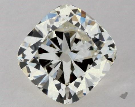 0.50 Carat K-VVS2 Cushion Cut Diamond