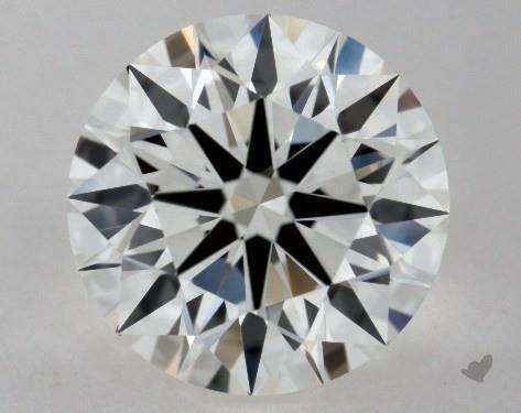 0.83 Carat G-VVS2 Excellent Cut Round Diamond