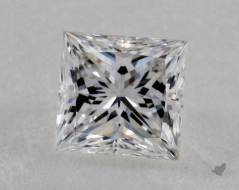 0.34 Carat G-VS1 Ideal Cut Princess Diamond