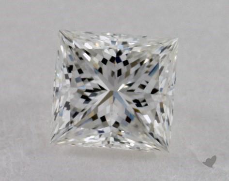 0.33 Carat H-VVS1 Ideal Cut Princess Diamond