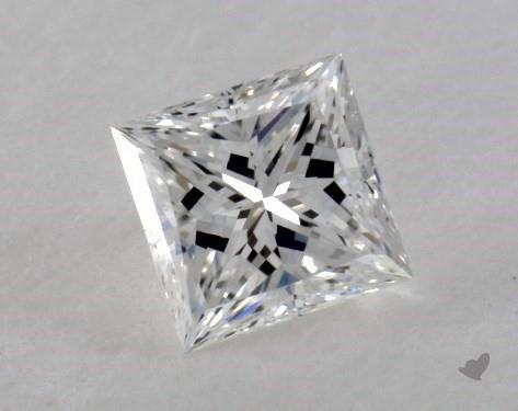 0.30 Carat E-VS1 Very Good Cut Princess Diamond