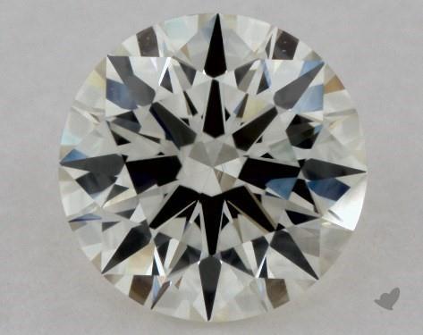 0.90 Carat J-SI1 Excellent Cut Round Diamond