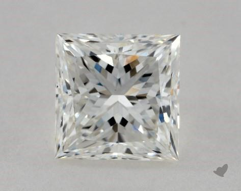 2.22 Carat H-VS1 Ideal Cut Princess Diamond
