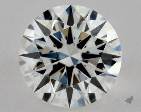 0.90 Carat G-VVS1 Excellent Cut Round Diamond