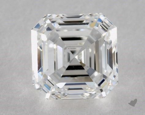 1.51 Carat F-VS1 Asscher Cut Diamond