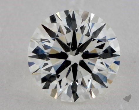 1.30 Carat H-VS1 Ideal Cut Round Diamond