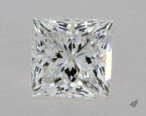 2.00 Carat G-VVS2 Ideal Cut Princess Diamond