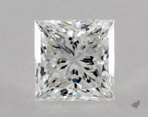 2.00 Carat G-VS1 Fair Cut Princess Diamond