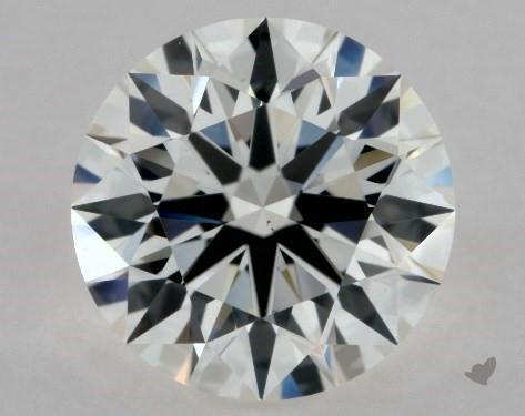 1.10 Carat H-VS1 Excellent Cut Round Diamond